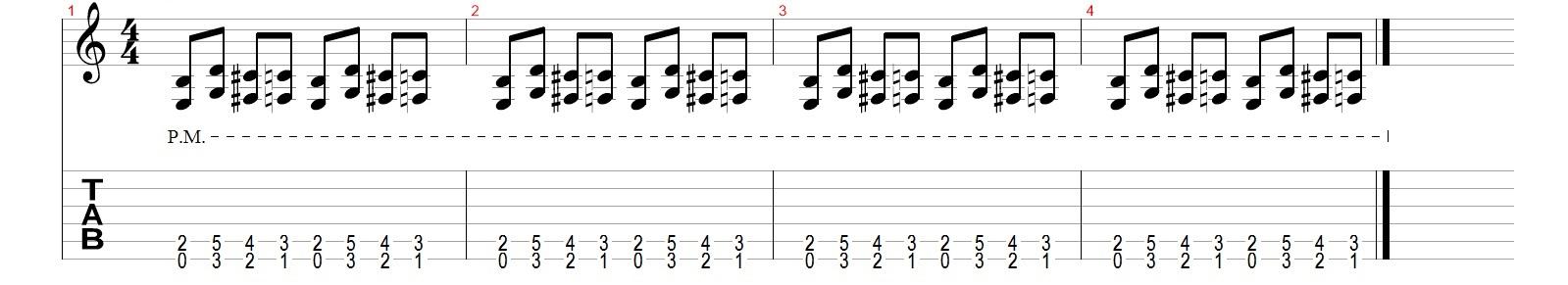 Как-делать-глушение-на-гитаре
