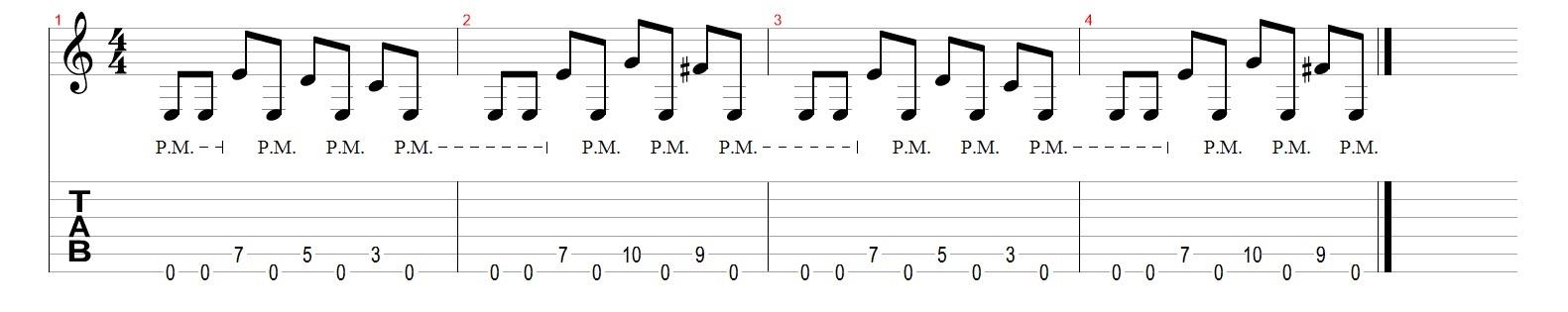Как-играть-глушение-на-гитаре